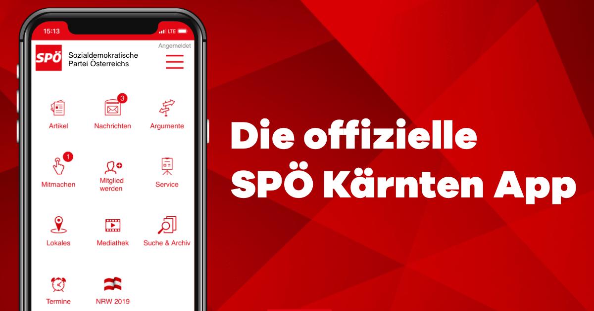 Die offizielle SPÖ Kärnten App